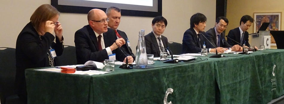 Rob Gorton of TMUK responds to questions during the panel discussion.